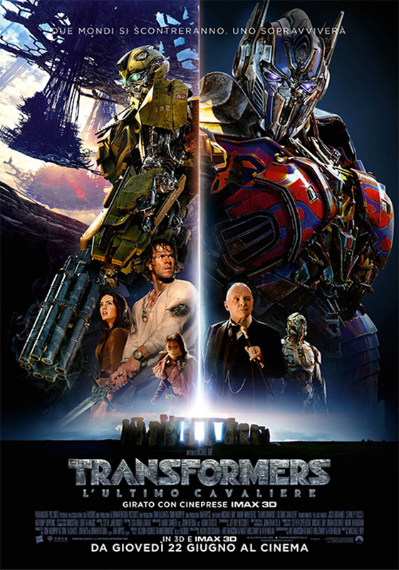 Transformers 5 - L'Ultimo Cavaliere (2017)