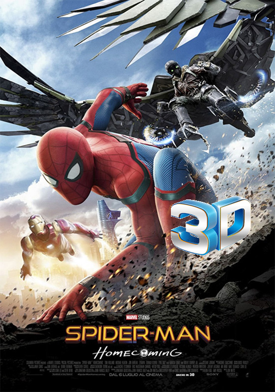 Spider-Man: Homecoming 3D (2017)