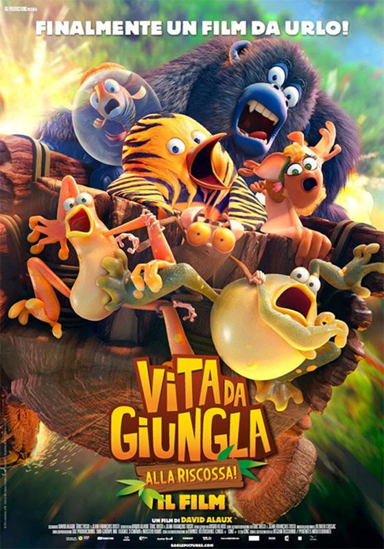 Vita da giungla: alla riscossa! - Il film (2017)