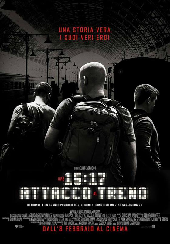 Ore 15:17 - Attacco al treno (2018)