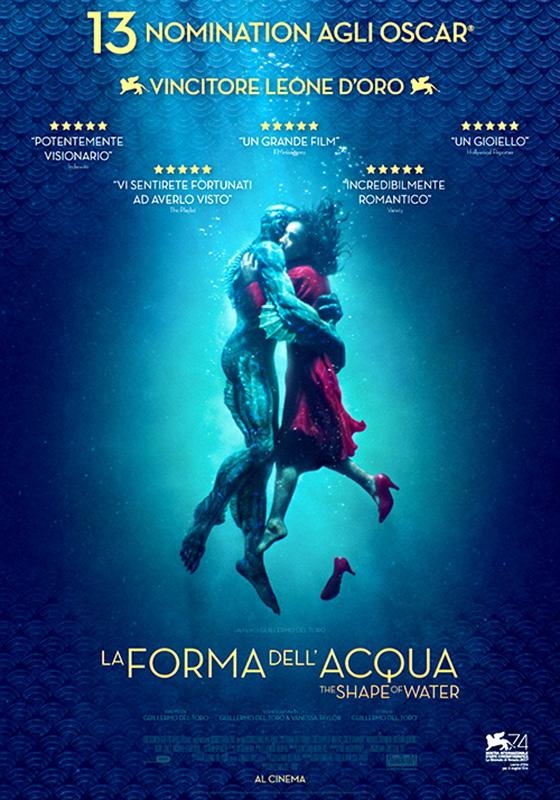 La Forma dell'Acqua - The Shape of Water (2018)