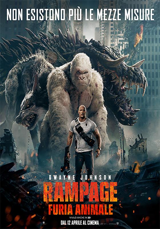 Rampage 3D - Furia Animale (2018)