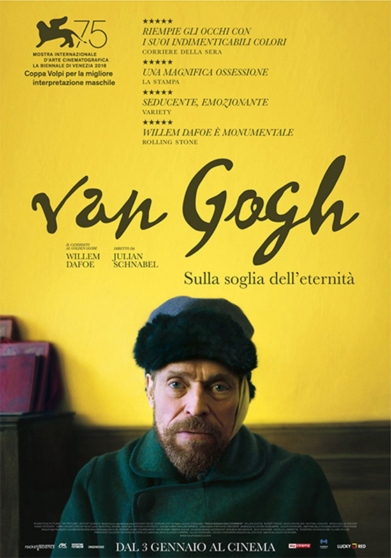 Van Gogh - Sulla soglia dell'eternità (2019)