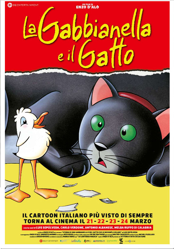 La Gabbianella e il Gatto (2019)