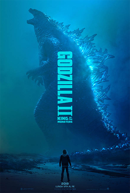 Godzilla II in 3D : King of Monsters (2019)