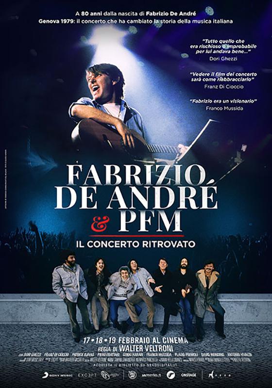 Fabrizio De André e PFM – Il concerto ritrovato (2020)