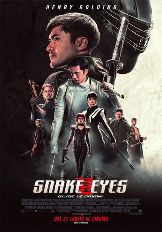 Snake Eyes: G.I. JOE Le origini (2021)