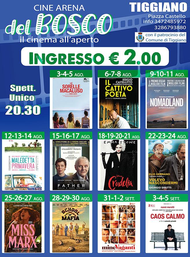 Rassegna Arena Bosco Tiggiano
